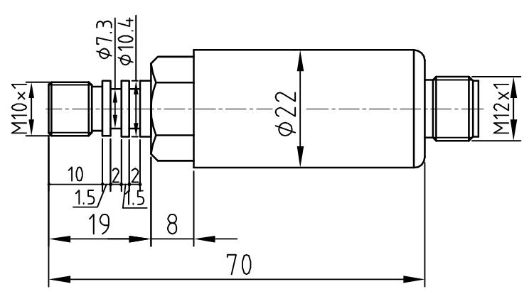 压力介质直接作用的17-4ph不锈钢膜片上制作了组成惠斯登电桥的合金