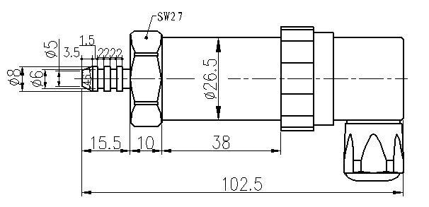 pts503k气体压力变送器